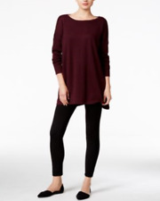NWT Style & Co. Batwing-Sleeve Tunic Sweater Color: Rich Auburn Size: XL