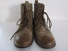 Ferro Aldo MFA-808561 Brown Mens Lace up Military Combat Desert Ankle Boot Sz 9