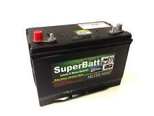12V 110AH Dual Purpose Deep Cycle Leisure & Marine Battery SuperBatt DT110
