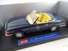 1:18 Sunstar #1142 Mercedes-Benz 350 SL Cabrio blau  Rarität
