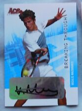 Vasilis Mazarakis Auto 2008 Ace Authentic Slam Breaking Through Bronze #BT15