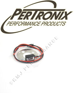 Pertronix 1168LSP6 Ignitor Electronic Ignition Delco 6Cyl Points + Pos Gnd 6v