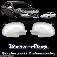Chrome Side Rear View Mirror Cover Trim for 99~00 Hyundai Elantra