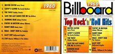 Billboard Top Rock n roll Hits 1960 cd- Jimmy Jones,Everly Brothers,Ventures,