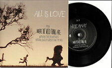 Yeah Yeahs KAREN O All is Love WHERE THE WILD THINGS ARE RARE PROMO 7 INCH Vinyl