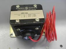 General Electric Vane Operated Limit Switch CR115A16