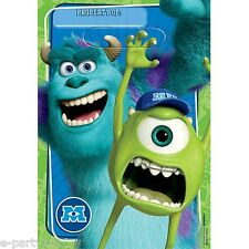 MONSTERS UNIVERSITY FAVOR BAGS (8) ~ Birthday Party Supplies Loot Treat Sacks