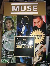 MUSE- HAARP LIVE-CARTONATO CM 98 X 68