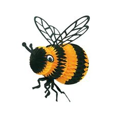 Tissue Bee Spring Summer Bumblebee Hanging Decor Bee Party CLOSEOUT Honey Bee