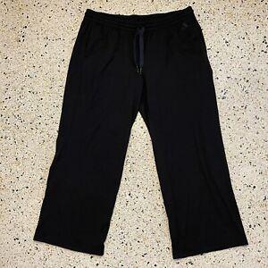 Adidas Pants Adult Extra Large Black Gray Casual Sweatpants Warm Up Sports Mens