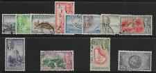 BARBADOS SG271/82 1950 DEFINITIVE SET USED