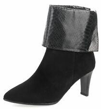 Tamaris Bottines Chaussures Femmes Bottes Cuir 25064 Noir Gr. 36