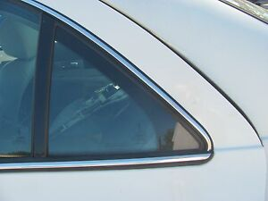 LINCOLN LS 2000 2001 2002 LEFT REAR DOOR VENT GLASS