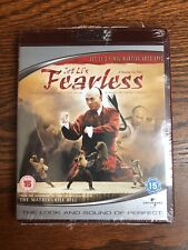 Jet Li Fearless HD DVD New Sealed 2007 Martial Arts