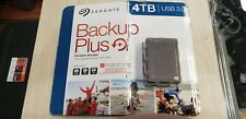 Seagate STDR4000602  4TB USB 3.0 Portable Storage Backup Plus