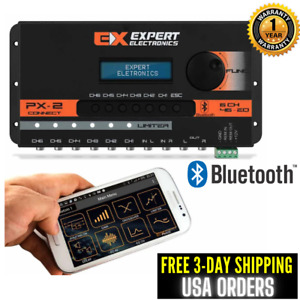 Banda Expert PX2 Connect Bluetooth 6-CH Crossover Digital Audio Equalizer Band