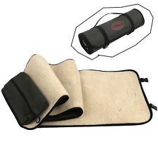 Tourbon Rifle Shotgun Cleaning Mat Pad Long Gun Clean Kits Pouch Fleece Portable