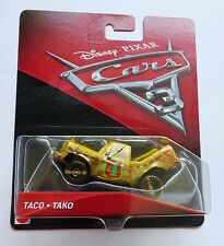 Disney Pixar Cars 3   TACO   Very Rare Over 100 Cars Listed UK !!