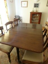More details for antique dining table and chairs