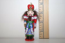 Carlton Cards Ornament - Holiday Nutcracker - First in Series - 1998