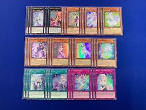 Yu-Gi-Oh! - Complete Rikka Deck Core [39 Cards]