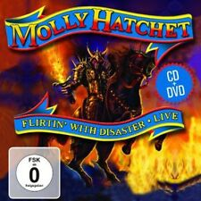 Flirtin With Disaster Live - 2 DISC SET - Molly Hatchet (2013, CD NEUF)