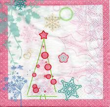 4 Motivservietten Servietten Napkins Weihnachten Modern (1046) Basteln