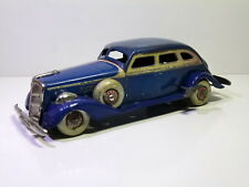 Very Rare Tin Pre-War TN / Nomura (Japan) # 1936 PACKARD 4-door Sedan, clockwork