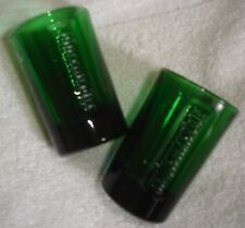 JAGERMEISTER GREEN SHOT GLASSES ~ SET OF TWO ~ BRAND NEW