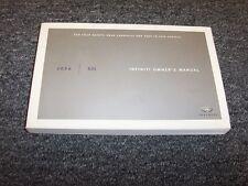 2006 Infiniti G35 Sedan Owner Owner's Operator User Guide Manual X 3.5L V6