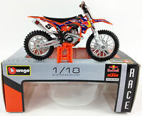 RYAN DUNGEY REDBULL KTM SXF 450 1:18 Motocross MX Toy Model Bike Cake Topper