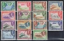 Curacao (on)gestempeld luchtpost 1942 (un)used LP26-LP40 - Kon. Wilhelmina (02)