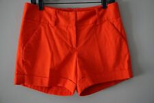 Vince Camuto Saffron Red Cuffed Shorts Size 4 Retail $79.00