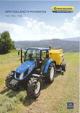 New Holland T4 Powerstar Series Tractor brochure 12/11