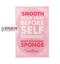 Velvotan - Body Polishing Exfoliating Sponge  **UK STOCK**