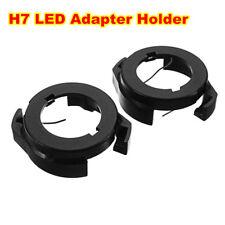 1 Pair H7 LED Lamp Bulb Adapter Retainer Holder For Ford KUGA VW passat b6