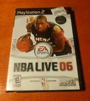 NBA Live 06 PlayStation 2 PS2 EA Sports