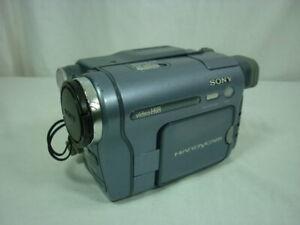 Sony Handycam Hi8 Video Camera Recorder CCD-TRV128 AS IS - Parts / Repair 21A026