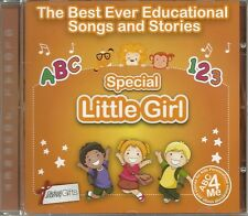THE BEST EVER EDUCATIONAL SONGS & STORIES PERSONALISED CD - SPECIAL LITTLE GIRL