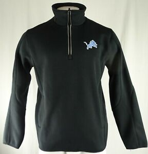 Detroit Lions NFL G-III Men's Quarter Zip Pullover Sweatshirt