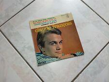 """Vinyle 45T Claude Francois  """"Si tu veux être heureux"""" que la pochette"""