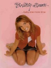 BRITNEY SPEARS-BABY ONE MORE TIME-PIANO/V/GUITAR CHORDS MUSIC BOOK-NEW RARE SALE