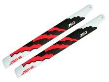 NEW ZEAL Carbon Fiber Main Blades 350mm OR Gaui X3, Trex 450L, Goblin 380