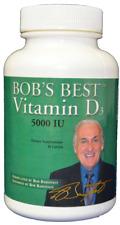 3 Bobs Best Vitamin D3 by Bob Barefoot Barefoot Vitamin D3 5000 iu