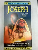 Joseph 1995 VHS 2 Tape Box Set Ben Kingsley The Bible Collection VCR