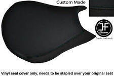 BLACK AUTOMOTIVE VINYL CUSTOM FITS DUCATI STREETFIGHTER FRONT RIDER SEAT COVER