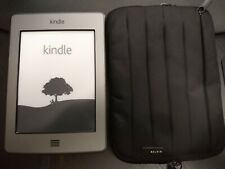 Amazon Kindle Touch D01200 (4th Generation) 4GB WiFi w/ case