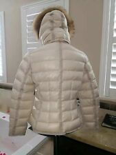 New NWT Authentic Gorgeous MONCLER Armoise Down Jacket with Fur Hood size 3