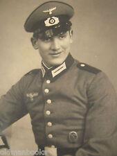 1939 GERMAN SOLDIER NAZI DAGGER  ARMY WWII  WW2 Artillery ORIGINAL PHOTO