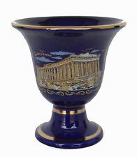 Pythagoras cup Pythagorean cup of justice Parthenon blue